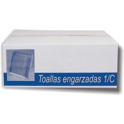 TOALLAS ZIG-ZAG BLANCA 1C